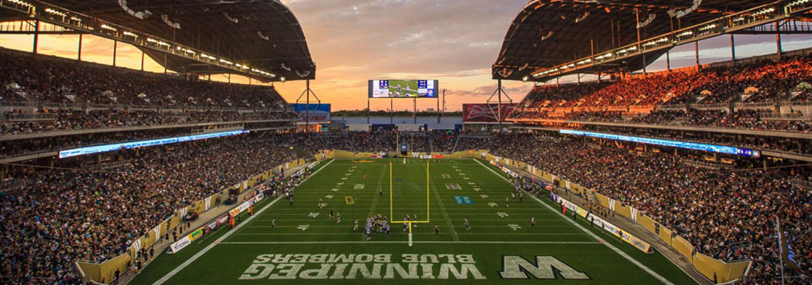 Investors Group Field, Winnipeg Manitoba